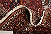 Bakhtiar Red Hand Knotted 89 X 124  Area Rug 100-21422 Thumb 5