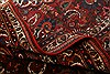 Bakhtiar Red Hand Knotted 89 X 124  Area Rug 100-21422 Thumb 7