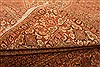 Bidjar Yellow Hand Knotted 82 X 114  Area Rug 100-21443 Thumb 7