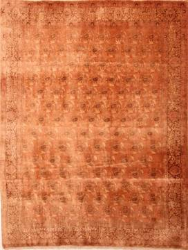 "Bidjar Yellow Hand Knotted 8'2"" X 10'11""  Area Rug 100-21458"