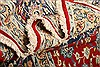 Isfahan Red Hand Knotted 83 X 118  Area Rug 100-21470 Thumb 8