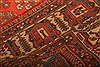 Maymeh Red Hand Knotted 82 X 118  Area Rug 100-21473 Thumb 17
