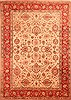 Kashan Yellow Hand Knotted 710 X 112  Area Rug 100-21477 Thumb 0