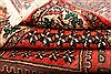 Yalameh Red Hand Knotted 82 X 116  Area Rug 100-21479 Thumb 13