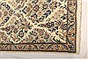 Nain White Runner Hand Knotted 30 X 65  Area Rug 100-21525 Thumb 3