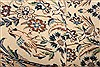 Nain White Runner Hand Knotted 30 X 65  Area Rug 100-21525 Thumb 7
