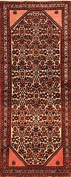 "Rudbar Brown Runner Hand Knotted 2'5"" X 6'1""  Area Rug 100-21566"