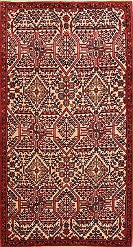 "Maymeh Red Hand Knotted 3'3"" X 6'2""  Area Rug 100-21568"