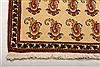 Abadeh Beige Runner Hand Knotted 26 X 410  Area Rug 100-21583 Thumb 19