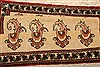 Abadeh Beige Runner Hand Knotted 26 X 410  Area Rug 100-21583 Thumb 11