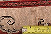 Abadeh Beige Runner Hand Knotted 26 X 410  Area Rug 100-21583 Thumb 13