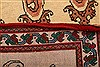 Abadeh Beige Runner Hand Knotted 26 X 410  Area Rug 100-21583 Thumb 16