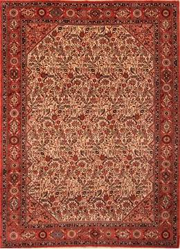 "Arak Red Hand Knotted 7'1"" X 9'10""  Area Rug 100-21738"