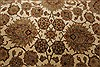 Agra Beige Hand Knotted 711 X 101  Area Rug 250-21767 Thumb 17