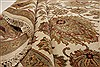 Agra Beige Hand Knotted 711 X 101  Area Rug 250-21767 Thumb 7