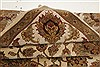 Agra Beige Hand Knotted 711 X 101  Area Rug 250-21767 Thumb 9