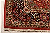 Sarouk Red Hand Knotted 71 X 100  Area Rug 100-21787 Thumb 19