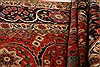 Sarouk Red Hand Knotted 71 X 100  Area Rug 100-21787 Thumb 7
