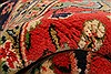 Sarouk Red Hand Knotted 71 X 100  Area Rug 100-21787 Thumb 4