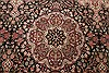 Pak-Persian Black Hand Knotted 81 X 105  Area Rug 250-21795 Thumb 19