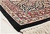 Pak-Persian Black Hand Knotted 81 X 105  Area Rug 250-21795 Thumb 21
