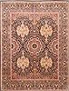 Pak-Persian Black Hand Knotted 81 X 105  Area Rug 250-21795 Thumb 0