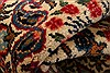 Kashan Beige Hand Knotted 70 X 102  Area Rug 100-21892 Thumb 2