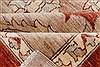 Pishavar Beige Hand Knotted 711 X 911  Area Rug 250-22079 Thumb 11
