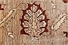Pishavar Beige Hand Knotted 711 X 911  Area Rug 250-22079 Thumb 1