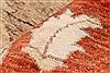 Pishavar Beige Hand Knotted 711 X 911  Area Rug 250-22079 Thumb 4