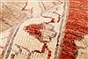 Pishavar Beige Hand Knotted 711 X 911  Area Rug 250-22079 Thumb 5
