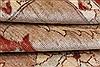 Pishavar Beige Hand Knotted 711 X 911  Area Rug 250-22079 Thumb 9