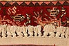 Abadeh Red Hand Knotted 33 X 49  Area Rug 100-22085 Thumb 10