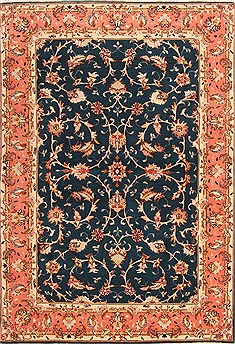 Persian Tabriz Red Rectangle 3x5 ft Wool Carpet 22105