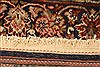 Kashan Brown Hand Knotted 35 X 411  Area Rug 100-22147 Thumb 19