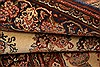 Kashan Brown Hand Knotted 35 X 411  Area Rug 100-22147 Thumb 11