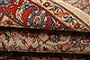 Sarouk Red Hand Knotted 37 X 47  Area Rug 100-22216 Thumb 10