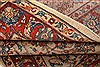 Sarouk Red Hand Knotted 37 X 47  Area Rug 100-22216 Thumb 8