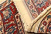 Sarouk Red Hand Knotted 37 X 47  Area Rug 100-22216 Thumb 9