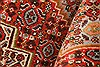 Sanandaj Red Hand Knotted 41 X 51  Area Rug 100-22273 Thumb 2
