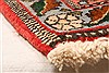 Sanandaj Red Hand Knotted 41 X 51  Area Rug 100-22273 Thumb 8