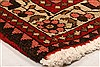 Abadeh Red Hand Knotted 36 X 47  Area Rug 100-22278 Thumb 9