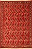 Abadeh Red Hand Knotted 36 X 51  Area Rug 100-22288 Thumb 0
