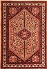 Abadeh Red Hand Knotted 34 X 411  Area Rug 100-22346 Thumb 0