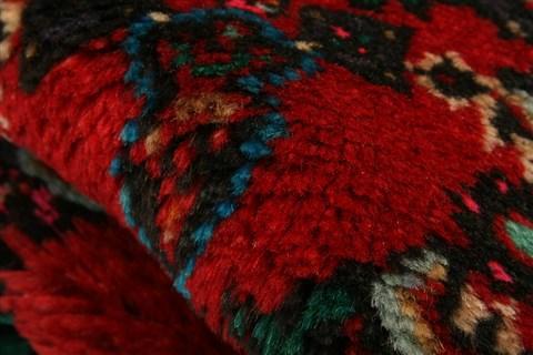 Persian Lilian Red Rectangle 3x5 Ft Wool Carpet 22362