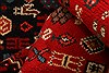 Abadeh Red Hand Knotted 32 X 64  Area Rug 100-22388 Thumb 2