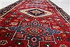 Karajeh Red Runner Hand Knotted 26 X 1211  Area Rug 250-22407 Thumb 17