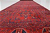 Bokhara Red Runner Hand Knotted 26 X 125  Area Rug 250-22433 Thumb 3