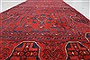 Bokhara Red Runner Hand Knotted 26 X 125  Area Rug 250-22433 Thumb 4
