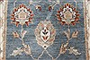 Chobi Blue Runner Hand Knotted 27 X 131  Area Rug 250-22498 Thumb 4